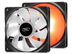"""COOLER DeepCool CPU universal, soc. LGA20xx/1366/115x/775 & FMx/AMx, Al+Cu, 6x heatpipe, 2x RGB SYNC fans 120x25mm, 200W """"NEPTWIN RGB""""6"""