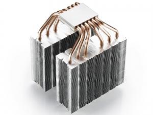 """COOLER DeepCool CPU universal, soc. LGA20xx/1366/115x/775 & FMx/AMx, Al+Cu, 6x heatpipe, 2x RGB SYNC fans 120x25mm, 200W """"NEPTWIN RGB""""5"""