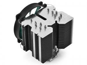 "COOLER DeepCool CPU universal, soc. LGA20xx/1366/115x/775 & FMx/AMx, Al+Cu, 6x heatpipe, fan 140x26mm, 130W ""LUCIFER V2""1"