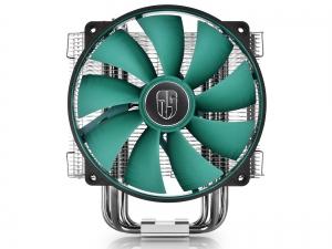 "COOLER DeepCool CPU universal, soc. LGA20xx/1366/115x/775 & FMx/AMx, Al+Cu, 6x heatpipe, fan 140x26mm, 130W ""LUCIFER V2""4"