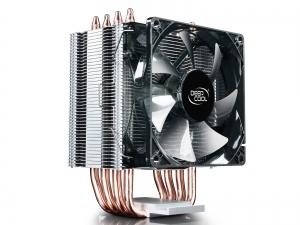 """COOLER DeepCool CPU universal, soc LGA20xx/1366/115x & AMx/FMx, Al+Cu, 4x heatpipe, 130W """"GAMMAXX C40""""4"""