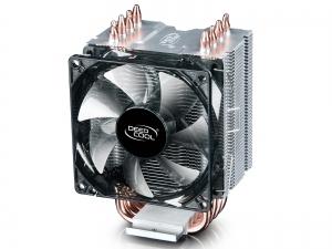 """COOLER DeepCool CPU universal, soc LGA20xx/1366/115x & AMx/FMx, Al+Cu, 4x heatpipe, 130W """"GAMMAXX C40""""0"""