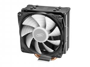 """COOLER DeepCool CPU universal, soc LGA20xx/1366/1200/115x & AM4/AMx/FMx, Al+Cu, 4x heatpipe, 150W, RGB LED """"GAMMAXX GT V2""""1"""