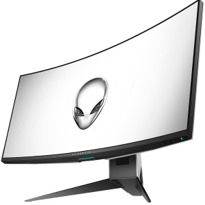 "DELL Alienware 34 Curved Gaming Monitor AW3418DW, NVIDIA G-SYNC, 34"" WQHD 3440 x 1440 IPS 21:9, 4 ms (gray-to-gray), 300 cd/m², 1000:1, 16.7 million colors, 178/178, HDMI, DisplayPort, USB 3.0 hub, Ti1"