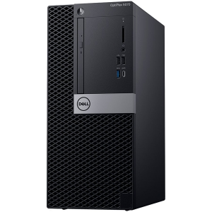 Dell Optiplex 5070 MT, Intel Core i7-9700 (8 Cores/12MB/8T/3.0GHz to 4.8GHz/65W), 8GB (1x8GB) DDR4 2666MHz,256GB (M.2)PCIe NVMe, Intel Graphics 630, DVD+/-RW, Dell Mouse-MS116,Dell Keyboard-KB216,Win10