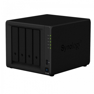Statie de BACK-UP date  Network Attached Storage Synology (NAS) DiskStation DS918+ 4 GB0