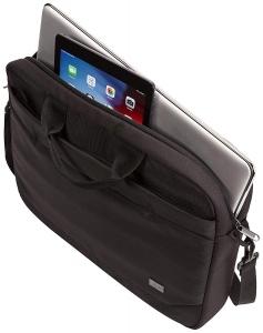 "GEANTA CASE LOGIC notebook 15.6"" , buzunar frontal, poliester, black ""ADVA116 Black""/32039883"