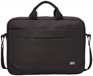 "GEANTA CASE LOGIC notebook 15.6"" , buzunar frontal, poliester, black ""ADVA116 Black""/32039882"