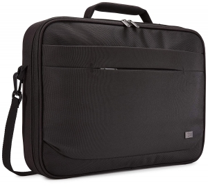 "GEANTA CASE LOGIC notebook 15.6"", poliester, 1 compartiment, buzunar interior tableta, 2 buzunare frontale, black, ""ADVB116 Black""/32039900"