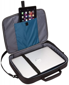 "GEANTA CASE LOGIC notebook 15.6"", poliester, 1 compartiment, buzunar interior tableta, 2 buzunare frontale, black, ""ADVB116 Black""/32039904"