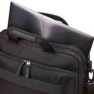 """GEANTA LAPTOP CASE LOGIC Notion 14"""", 2 compartimente, buzunar interior tableta, buzunar frontal, NOTIA-114 BLACK 32041964"""
