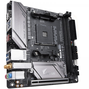 GIGABYTE Main Board Desktop B450 I AORUS PRO WIFI [1]