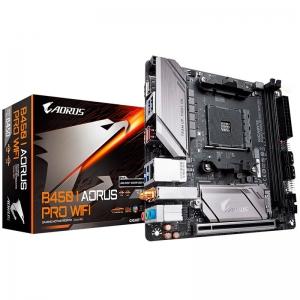 GIGABYTE Main Board Desktop B450 I AORUS PRO WIFI [0]