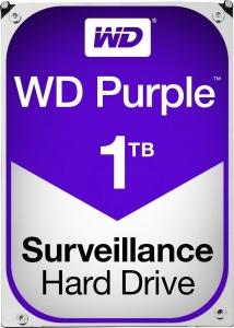 """HDD  1TB PURPLE  64MB S-ATA3 """"1PURZ"""" WD SURVEILLANCE """"WD10PURZ""""0"""