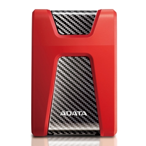 "HDD ADATA EXTERN 2.5"" USB 3.1 1TB  HD650 Black&Red ""AHD650-1TU31-CRD"" (include timbru verde 0.5 lei) [0]"