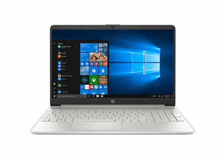 "Laptop HP 15-dy1091wm, Intel Core i3-1005G1 pana la 3.4GHz, 15.6"" HD, 8GB, SSD 256GB, Intel UHD Graphics, Windows 10 Home S, argintiu0"