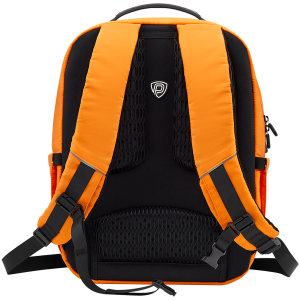 LEDme backpack, animated backpack with LED display, Nylon+TPU material, Dimensions 42*31.5*20cm, LED display 64*64 pixels, orange1