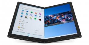 """Laptop 2in1 LENOVO ThinkPad X1 FOLD Gen 1, cu ecran pliabil, Intel Core i5-L16G7 (5C / 5T, 1.4 / 3.0GHz, 4MB), 8GB, 512GB SSD, 13.3"""" QXGA,  Windows 10 Pro 641"""
