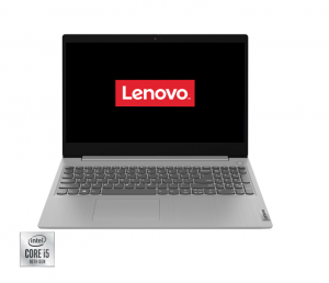"Laptop Lenovo IdeaPad 3 15IIL05 cu procesor Intel® Core™ i5-1035G1 pana la 3.60 GHz, 15.6"", Full HD, 4GB, 512GB SSD, Intel® UHD Graphics, Free DOS, Platinum Grey"