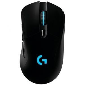 LOGITECH G703 LIGHTSPEED Wireless Gaming Mouse with HERO 16K Sensor - BLACK - 2.4GHZ - EER20