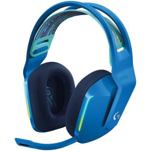 LOGITECH G733 LIGHTSPEED Wireless RGB Gaming Headset - BLUE - 2.4GHZ - EMEA0