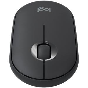LOGITECH Pebble M350 Wireless Mouse - GRAPHITE - 2.4GHZ/BT - EMEA - CLOSED BOX1