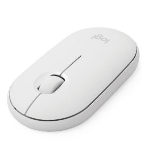 LOGITECH Pebble M350 Wireless Mouse - OFF-WHITE - 2.4GHZ/BT - EMEA - CLOSED BOX1