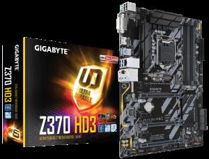 "MB skt 1151  (INTEL Z370)  Gigabyte ""Z370 HD3""4"