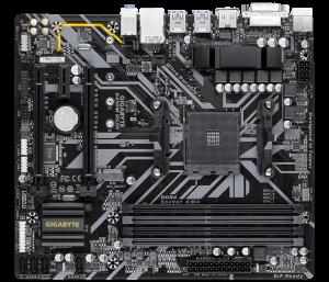 """MB  skt AM4  (AMD B450)  Gigabyte  """"B450M DS3H""""2"""