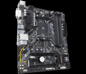 """MB  skt AM4  (AMD B450)  Gigabyte  """"B450M DS3H""""0"""