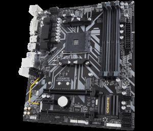"""MB  skt AM4  (AMD B450)  Gigabyte  """"B450M DS3H""""1"""