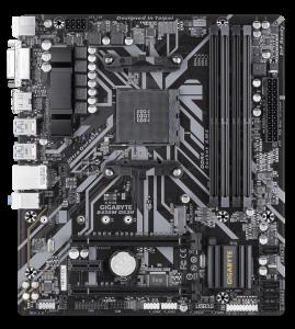 """MB  skt AM4  (AMD B450)  Gigabyte  """"B450M DS3H""""3"""