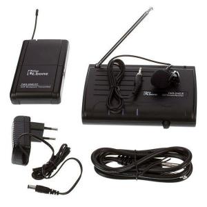 Microfon Lavaliera Wireless, The t.Bone, TWS one, C Lapel, Negru - pentru scoala online2