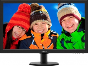 "Monitor LED PHILIPS 273V5LHSB/00 (27"""", 1920x1080, LED Backlight, 1000:1, 10000000:1(DCR), 170/160, 5ms, HDMI/DVI/VGA) Black0"