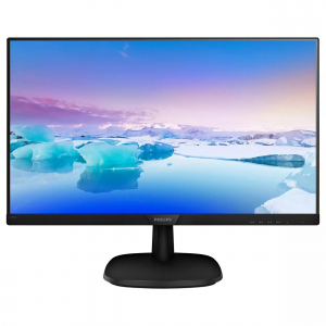 "MONITOR PHILIPS 27"" WLED tehn. IPS, Full HD, 1920x1080, 4 ms, VGA, HDMI, Display Port ""273V7QJAB/00"" (include timbru verde 5 lei)0"