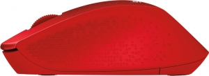 """MOUSE Logitech  """"M330 Silent"""" Wireless Mouse, red """"910-004911""""  (include timbru verde 0.01 lei)1"""