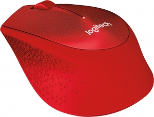 """MOUSE Logitech  """"M330 Silent"""" Wireless Mouse, red """"910-004911""""  (include timbru verde 0.01 lei)3"""