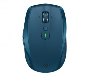 "MOUSE LOGITECH wireless laser, 4000dpi, 7 butoane, 1 rotita scroll, ""MX Anywhere 2S"", albastru, ""910-005154"" (include timbru verde de 0.1 lei)0"