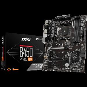 MSI Main Board Desktop B450-A PRO MAX0