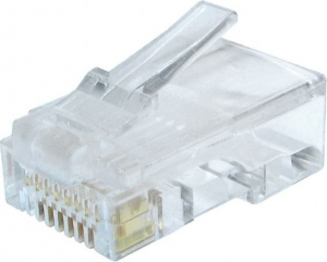 """MUFE RJ  45 ( 50 BUC), solid CAT6 LAN cable, Gembird """"LC-8P8C-002/50""""0"""