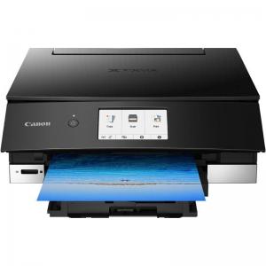 Multifunctional inkjet color Canon Pixma TS8250 , dimensiune A4 (Printare, Copiere, Scanare, Cloud link), duplex, viteza 15ppm alb- negru, 10ppm color, rezolutie 4800x1200 dpi, alimentare hartie 100 +1