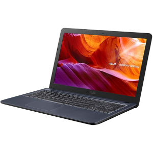 "Laptop ASUS X543MA cu procesor Intel® Celeron® N4000 pana la 2.60 GHz, 15.6"", HD, 4GB, 256GB SSD, Intel® UHD, Licenta Windows 10 Home, Star Grey2"