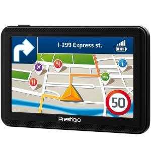 "Prestigio GeoVision 5060, 5"" (480*272) TN display, WinCE 6.0, 800MHz Mstar MSB2531 Cortex A7, 128MB DDR, 4GB Flash, 600mAh battery, color/black1"