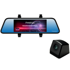 Prestigio RoadRunner 435DL, 6.86\'\' (1280x480) touch display, Dual camera: front - FHD 1920x1080@30fps, HD 1280x720@30fps, rear - VGA 640x480@30fps, SSC8336, 2 MP CMOS GC2063 image sensor, 12 MP came0