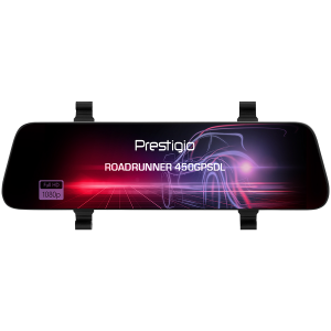 Prestigio RoadRunner 450GPSDL, 9.66\'\' IPS (1280x320) 2.5D curved touch display, Dual camera: front - FHD 1920x1080@30fps, HD 1280x720@30fps, rear - VGA 1920x1080@30fps, MSC8339D, 2 MP CMOS SC2363 fr1