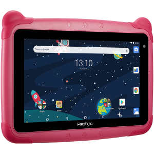 "Prestigio Smartkids, PMT3197_W_D_PK, wifi, 7"" 1024*600 IPS display, up to 1.3GHz quad core processor, android 8.1(go edition), 1GB RAM+16GB ROM, 0.3MP front+2MP rear camera,2500mAh battery2"