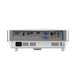 "Proiector BENQ MW632ST, DLP, WXGA 1280x 800, 3200 lumeni, 13.000:1,lampa 10.000 ore Smart Eco, D-sub, Composit, S-Video, HDMI, RCA, boxa 10W, telecomanda, card garantie, culoare alb/ argintiu ""9H.JE275"