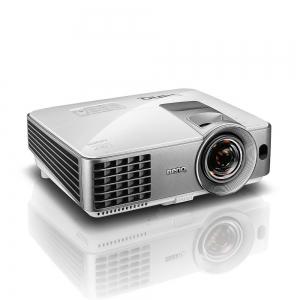 "Proiector BENQ MW632ST, DLP, WXGA 1280x 800, 3200 lumeni, 13.000:1,lampa 10.000 ore Smart Eco, D-sub, Composit, S-Video, HDMI, RCA, boxa 10W, telecomanda, card garantie, culoare alb/ argintiu ""9H.JE273"