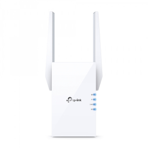 "RANGE EXTENDER TP-LINK wireless  1800Mbps, 1 port Gigabit,  2 antene externe, 2.4 / 5Ghz dual band, Wi-Fi 6, ""RE605X"" (include timbru verde 1.5 lei)1"