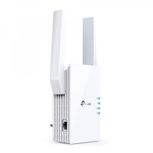 "RANGE EXTENDER TP-LINK wireless  1800Mbps, 1 port Gigabit,  2 antene externe, 2.4 / 5Ghz dual band, Wi-Fi 6, ""RE605X"" (include timbru verde 1.5 lei)2"